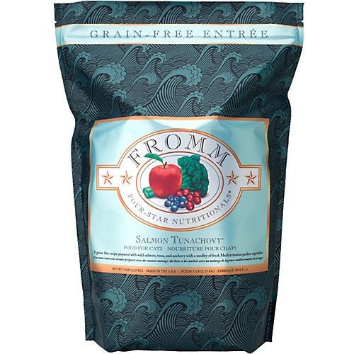 Fromm Four-Star Salmon Tunachovy for Cats 5 lb