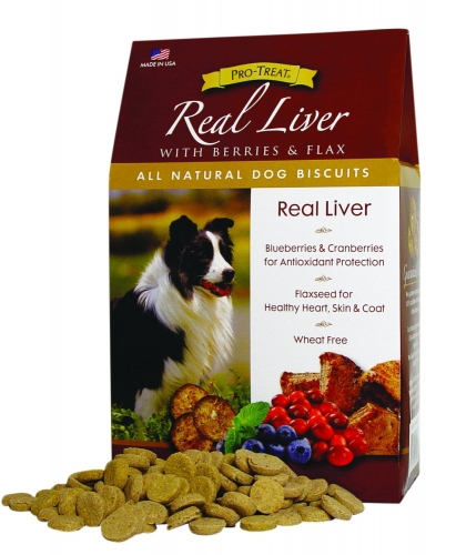 Gimborn Real Liver All Natural Dog Biscuits