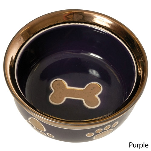 "RITZ COPPER RIM 5"" DOG PURPLE"
