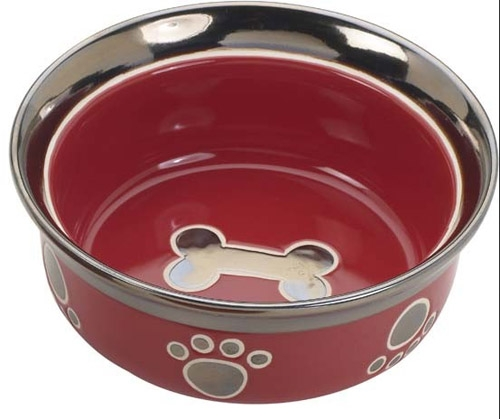 "RITZ COPPER RIM 7"" DOG RED"