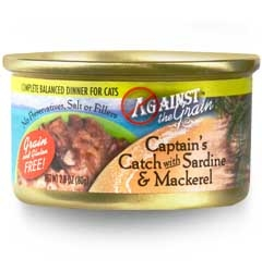 Evanger's Against the Grain  Captains Catch W/ Sardine & Mackerel Cat 24/2.8Oz