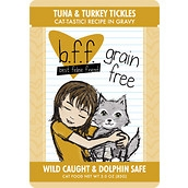 BFF Tuna & Turkey Tickles 3oz Pouch