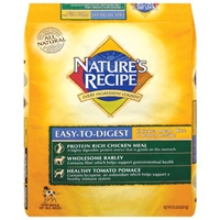 Nature's Recipe Easy to Digest Chicken Rice Barley 15 lb.