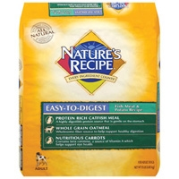 Nature's Recipe Easy to Digest Fish & Potato 15 lb.