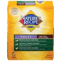 Nature's Recipe Adult Lamb & Rice 15 lb.