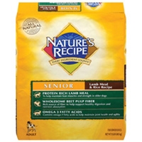 Nature's Recipe Senior Lamb & Rice 15 lb.