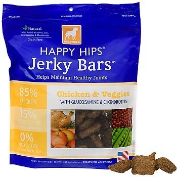 DOGSWELL® 15 oz HAPPY HIPS® Jerky Bars Chicken & Veggies