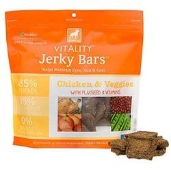 DOGSWELL® 15 oz VITALITY® Jerky Bars Chicken & Veggies  Replaces 842357