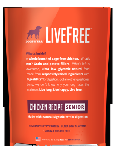 Livefree™ Senior Chicken Recipe 12#