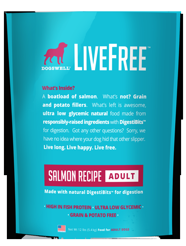 Livefree™ Adult Salmon Recipe 25#
