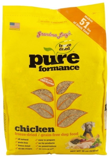 Grandma Lucy's Pureformance Chicken Grain-Free DOG Food – 3lb