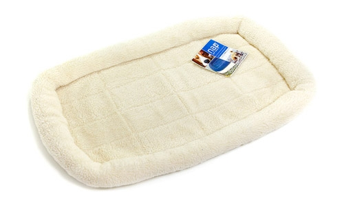 Sherpa Bolster Cat Bed