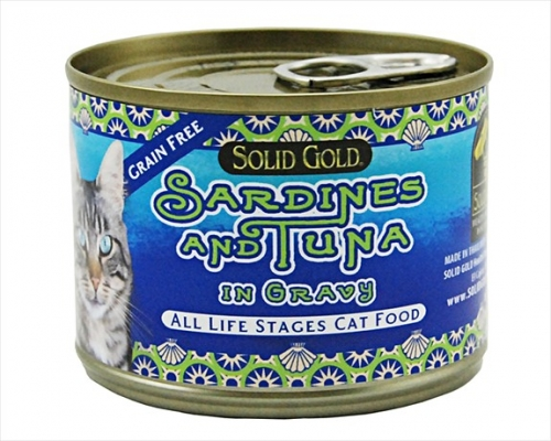 Solid Gold Cat Grain Free Sardine/Tuna 24/6Oz