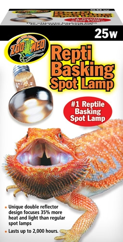 Zoo Repti Basking Spot Lamp 25W