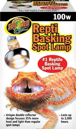 Zoo Repti Baskng Spot Lamp 100W