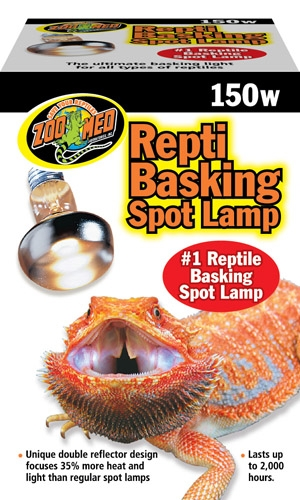 Zoo Repti Baskng Spot Lamp 150W