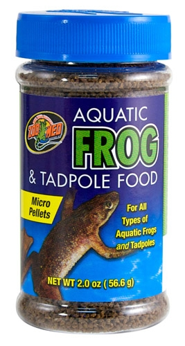 Zoo Aquatic Frog&Tadpole Fd 2Oz