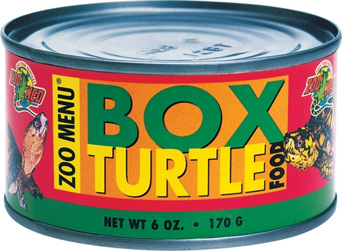 Zoo Box Turtle Food Can/Wet 6Oz