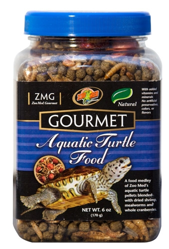 Zoo Grmt Aquatc Turtle Fd 6Oz