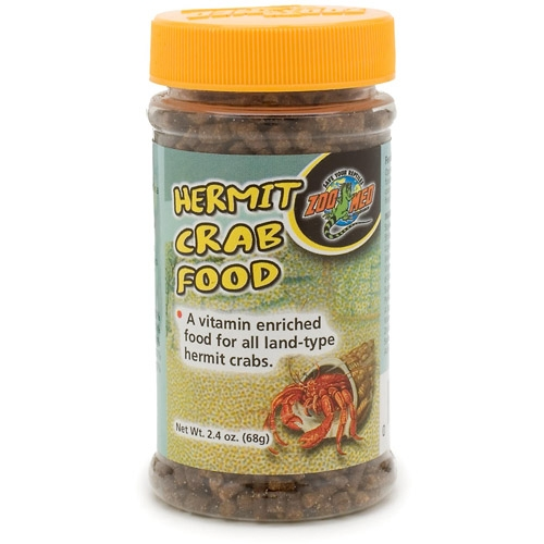 Zoo Hrm Crab Food Pellet 2.4Oz
