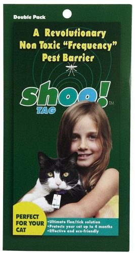 Shoo Tag Flea/Tick Cat Dbl