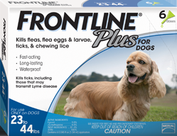 Frontline Plus 6Month Dog 23-44#
