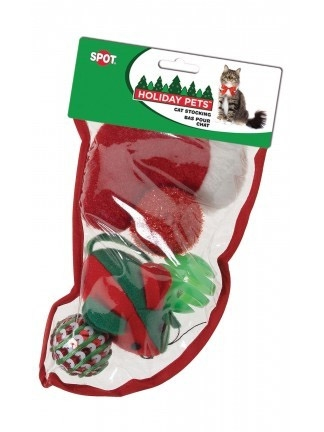 Holiday Cat Toy Stocking
