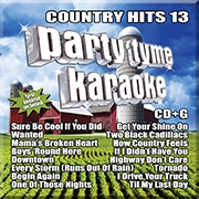 Karaoke CD, Country Hits 13