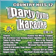 Karaoke CD, Country Hits 12
