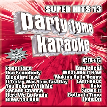 Karaoke CD, Super Hits 13
