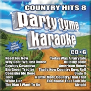 Karaoke CD, Country Hits 8