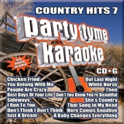 Karaoke CD, Country Hits 7