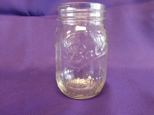 Glass, 16 oz Mason Jar