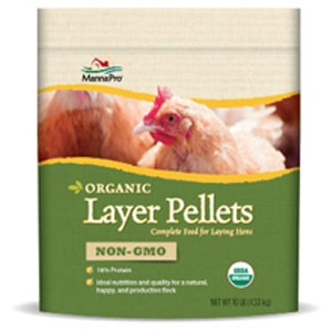 Manna Pro® Certified Organic Layer Pellets