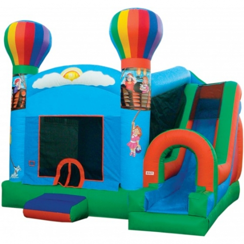 JUMP N SLIDE BALLOON COMBO W/ SLIDE