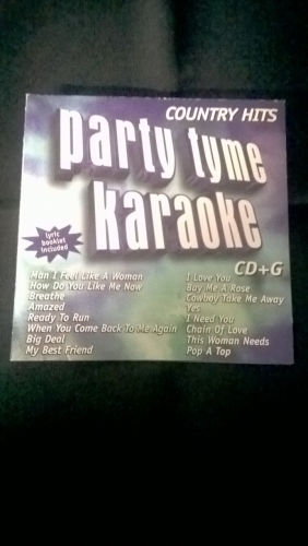 Karaoke CD, Country Hits 1