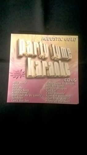 Karaoke CD, Acoustic Gold