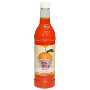 1-qt. Bottle of Sno-Kone® Flavor - Orange
