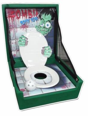 ZOMBIE POTTY TOSS, GAME