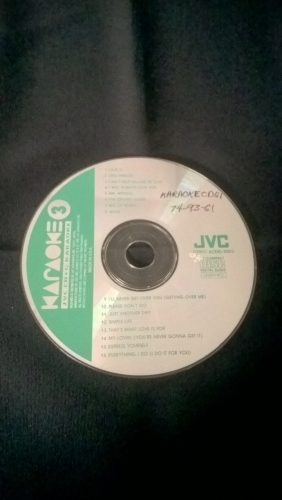 Karaoke CD, Oldies - 90s
