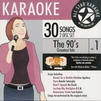Karaoke CD, The 90's Greatest Hits Vol. 1