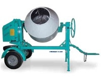 Mixer, Cement Gas Towable