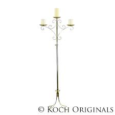 Wedding Candelabra 3 pillar