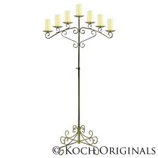 Wedding Candelabra 7 pillar