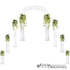 Roman Wedding Column pair (2.5',4',6')