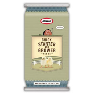 Agway® Chick Starter & Grower Non-medicated Feed