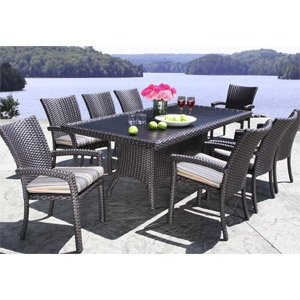 Cabana Coast® 'Louvre' Patio Furniture and Table Collection