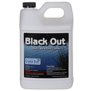 Crystal Blue® Black Out Pond Dye & Colorant