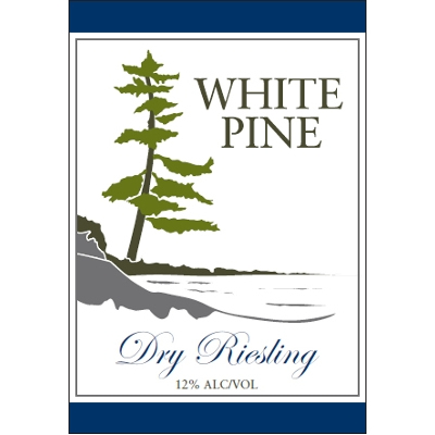 White Pine Winery 'Dry Riesling'