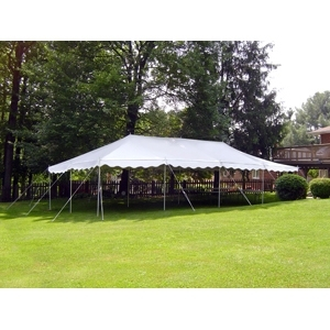 20' x 30' Do-It-Yourself Canopy Pole Tent